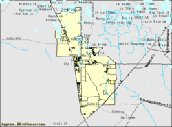 Four Corners Florida Wikipedia - Orlando florida on us map