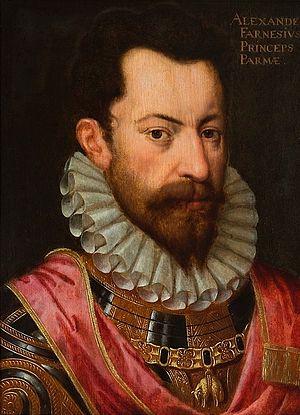 Battle of Zutphen - Alessandro Farnese (ca. 1590). Antoon Claeissens.