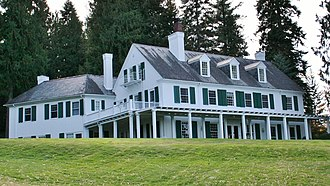 National Register of Historic Places listings in Kootenai County, Idaho - Image: Clark Mansion Hayden ID1