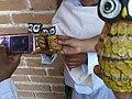 Clase de artes plásticas con niños de Ayahualulco, Veracruz, México 05.jpg