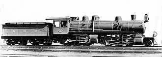 2-6-6-0 - NGR Mallet 2-6-6-0 of 1909