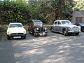 Classic cars waiting to start the 2009 Havant Mayor's Rally (7) - geograph.org.uk - 1259829.jpg