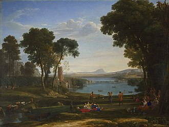 The Embarkation of the Queen of Sheba - Image: Claude Lorrain, The Mill