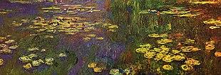 January 1: Claude Monet paints Water Lilies series.