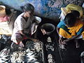 Cleaning prawns 2.JPG