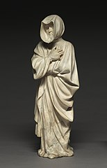 Mourner from the Tomb of Philip the Bold, Duke of Burgundy (1364-1404)