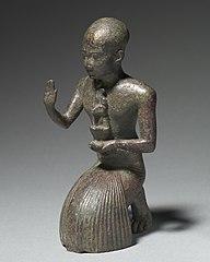 Statuette of a Kneeling Priest