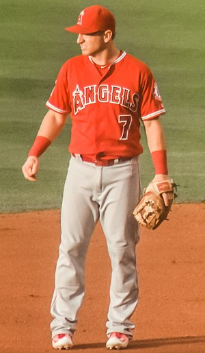 Cliff Pennington (baseball) - Pennington with the Los Angeles Angels in 2016