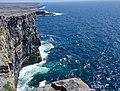 Cliffs at Dún Aonghasa • Dun Aengus (40324982390).jpg