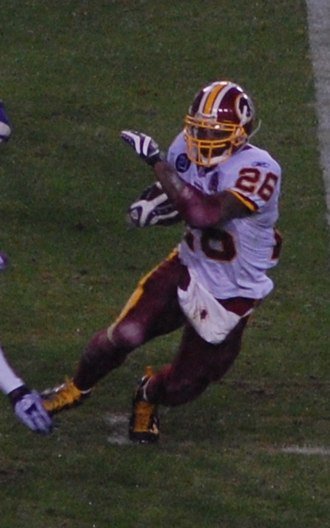 Clinton Portis - Portis during his tenure with the Redskins in 2007 season.