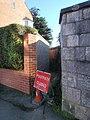 Closed footpath, East Grove Road - geograph.org.uk - 1069232.jpg