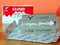 Cloud Super Stainless Safety Razor Blade (13968651134).jpg