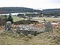 Clune Wood Stone Circle - geograph.org.uk - 257884.jpg