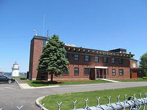 Coast Guard Station Merrimack River - Image: Coast Guard Station Merrimack River, Newburyport MA