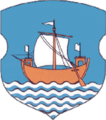 Coat of Arms of Druja, Belarus.png