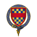 Coat of Arms of Sir Lewis Clifford, KG.png