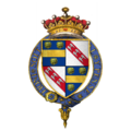 Coat of Arms of Sir William de la Pole, 4th Earl of Suffolk, KG.png