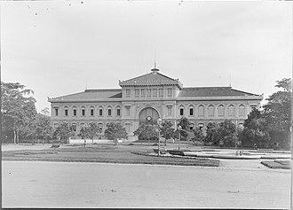 Saigon Central Post Office - Saigon Central Post Office in 1895