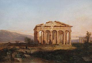 Paestum Temple in Morning Light