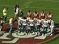 Coin toss at Rams at 49ers 11-16-08.JPG