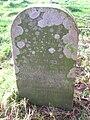 Col. J W Smith Neil gravestone, Barnweill Church.JPG