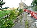 Collapsing embankment, Overton, Sitlington - geograph.org.uk - 903656.jpg