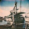 Collectie NMvWereldculturen, TM-10035704, Dia, 'Madurese prauw', fotograaf onbekend, 1932-1940.jpg