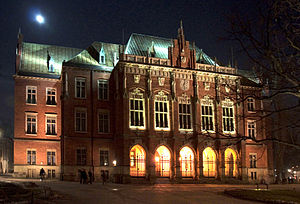 Jagiellonian University - The Collegium Novum in the Old Town District