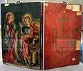 Colonia, maria in trono e crocifissione, 1300-30 ca. 02.JPG
