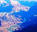 Colorado River Sunrise, Grand Canyon AZ 9-15 (26128200471).jpg
