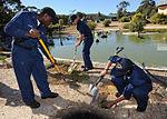 Community service project at Cohunu Koala Park DVIDS186268.jpg