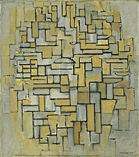 Composition in Brown and Gray, Piet Mondrian, 1913.jpg