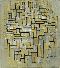 Composition in Brown and Gray