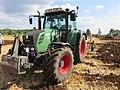 Concours de labour de Boissia - Tracteur Fendt 312 (juil 2018).jpg