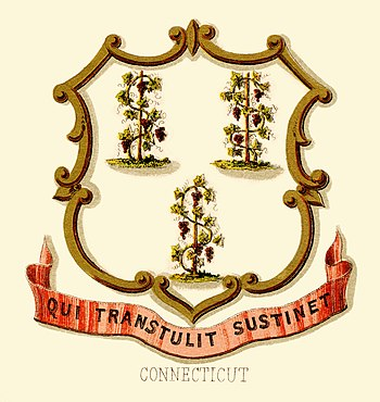 Coat of arms of Connecticut