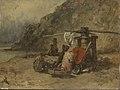 Constant Troyon - Strandgezicht met kaapstanders - SK-A-1900 - Rijksmuseum.jpg
