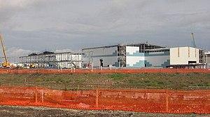 Roath Lock - Roath Lock during construction