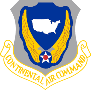 304th Air Division - Image: Continental Air Command