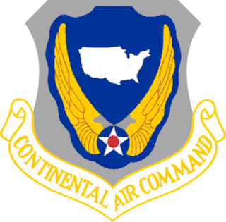 Continental Air Command 1948-1968 United States Air Force major command