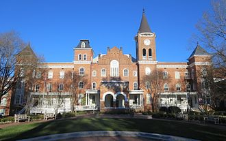 Spartanburg, South Carolina - Wilson Hall at Converse College.