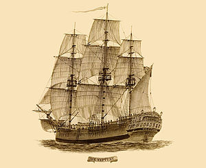 Convict ship - The Neptune, a convict ship that brought prisoners to Australia
