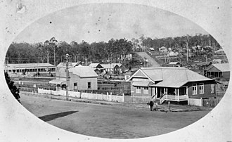 Cooroy Post Office - Cooroy Post and Telegraph Office, newly built