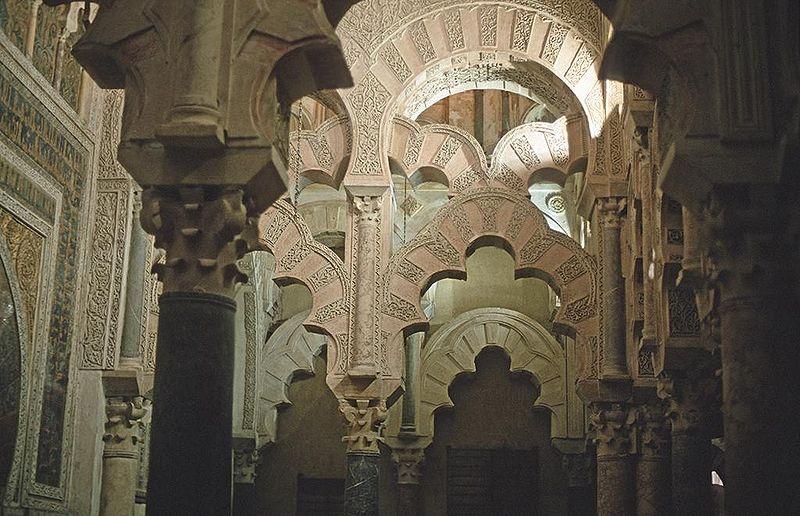 Mezquita de Córdoba, arcos