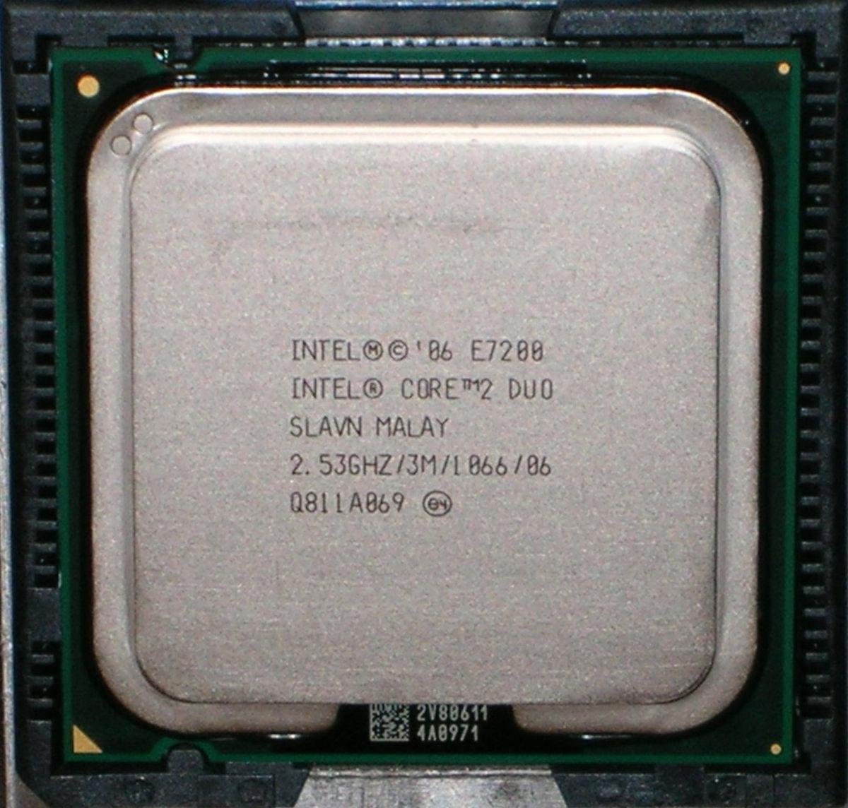 Wolfdale (microprocessor) - Wikipedia