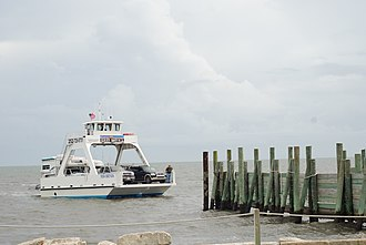 Core Banks, North Carolina - Image: Core Banks ferry 2013 06 1