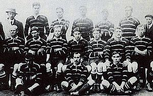 Rugby union in Cornwall - Cornwall won the silver medal at the 1908 Summer Olympics.
