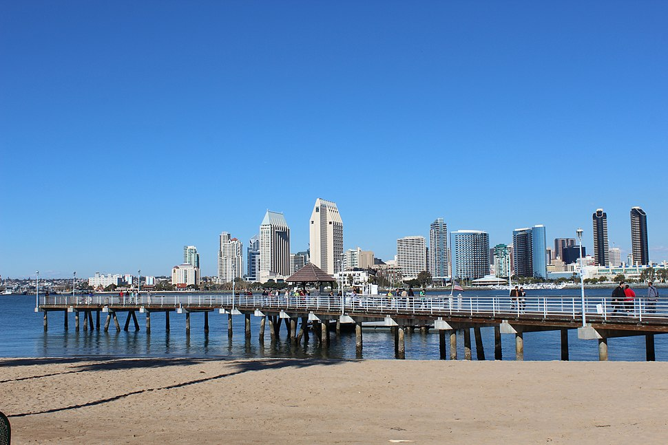 Coronado, CA, USA - San Diego viewed from Coronado - panoramio (4)