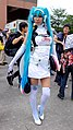 Cosplayer of Hatsune Miku at CWT40 20150809a.jpg