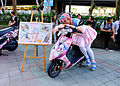 Cosplayer of Super Sonico with Itansha and Jigsaw Puzzle at CWT42 20160213.jpg