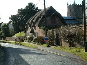 Milton Lilbourne - Image: Cottages in Milton Lilbourne geograph.org.uk 121143